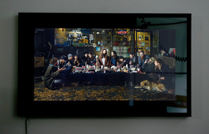 Last+Supper+Framed
